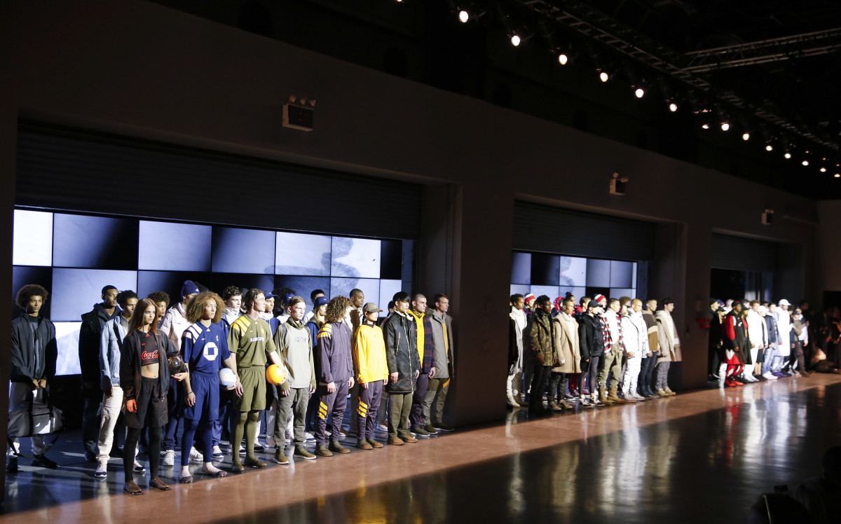 Kith's Spring 2018 presentation. Photo: Brian Ach/Getty Images