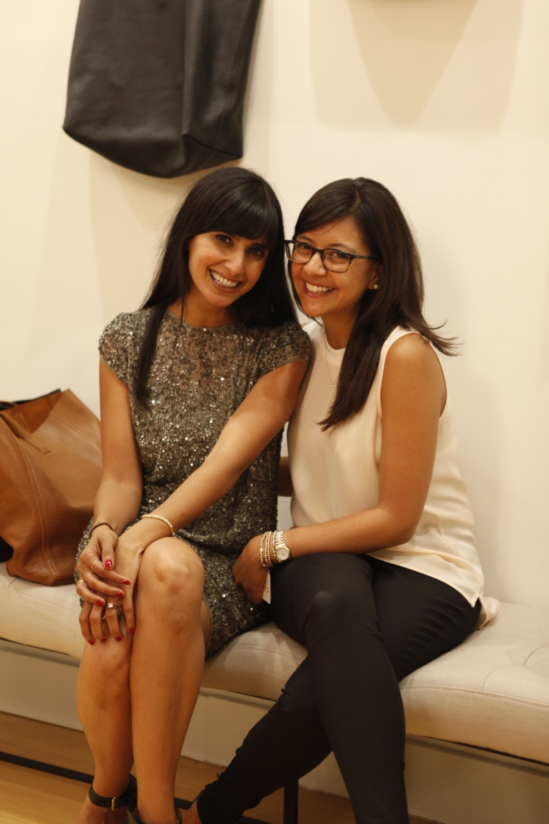 Shilpa Shah and Karla Gallardo. Photo: Courtesy