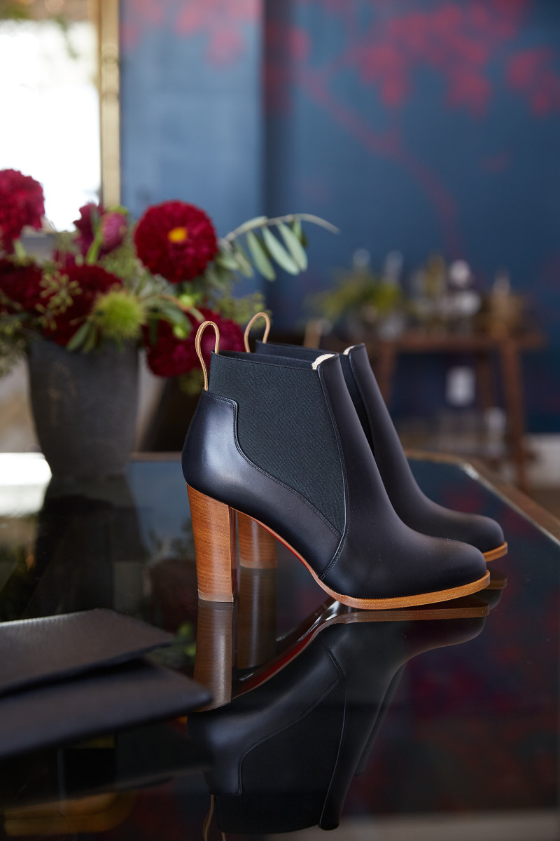 Goop x Christian Louboutin boots at Goop Lab. Photo: Jessica Sample