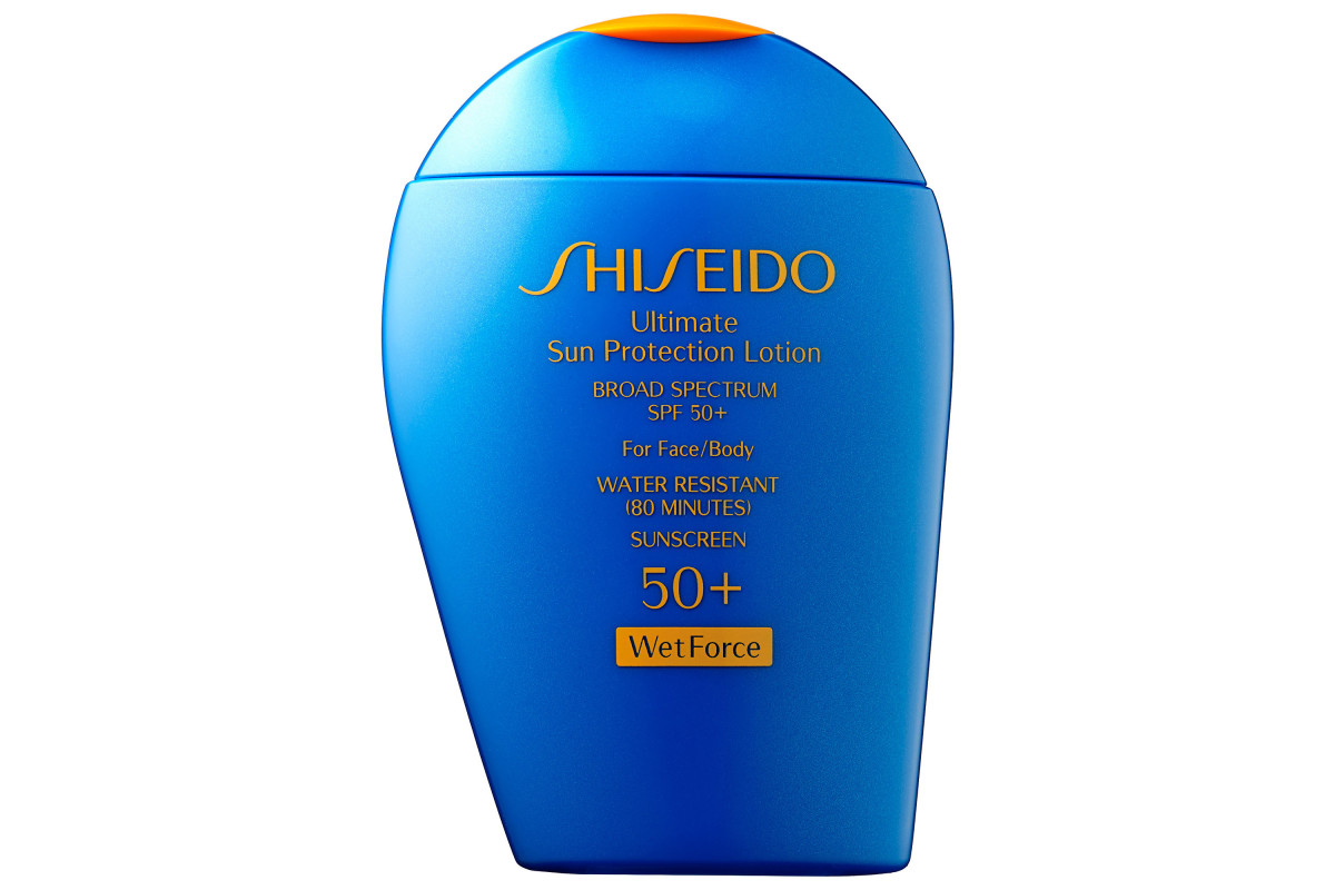 Shiseido Ultimate Sun Protection Lotion WetForce SPF 50+, $36, available at Sephora