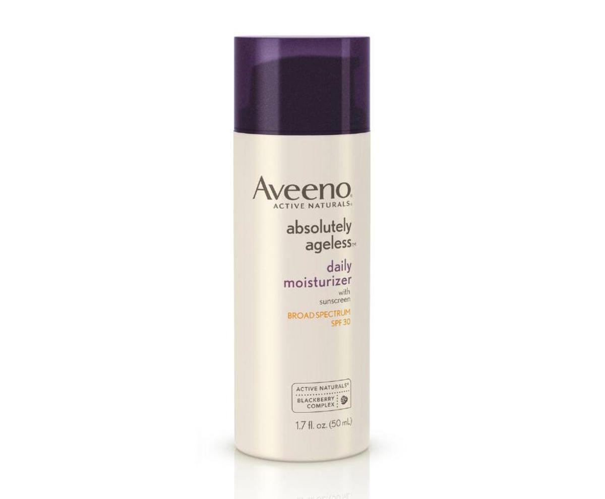 Aveeno Absolutely Ageless Daily Moisturizer SPF 30, $22, available at Ulta Beauty