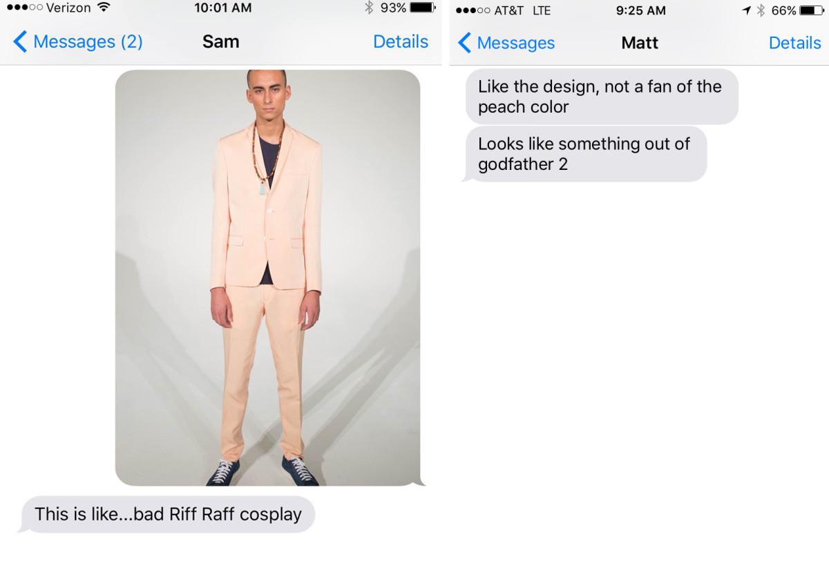 Left: Tyler's boyfriend, Sam. Right: Maura's boyfriend, Matt.