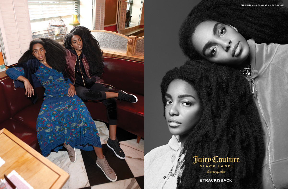 0d999021b8 Juicy Couture Dedicates Its Entire Fall Campaign to the Tracksuit -  Fashionista