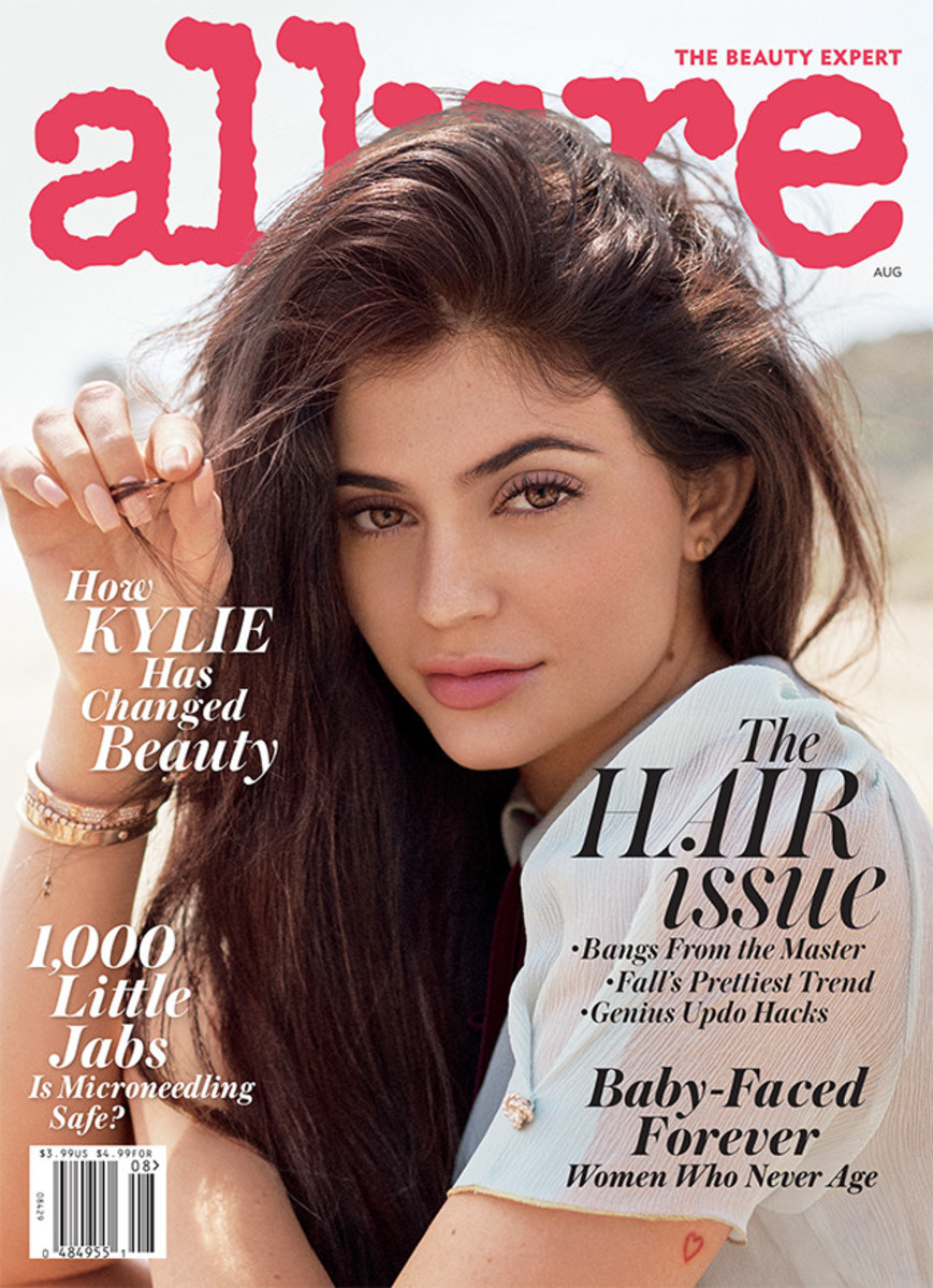 Kylie Jenner on the August 2016 cover of Allure. Photo: Scott Trindle/Allure