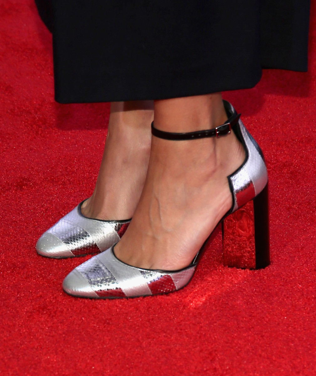 Pierre Hardy shoes on the red carpet. Photo: Getty Images