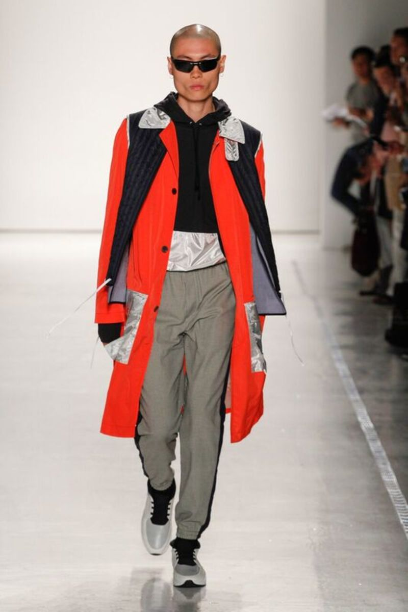 A look from the spring 2017 Tim Coppens collection. Photo: Tim Coppens