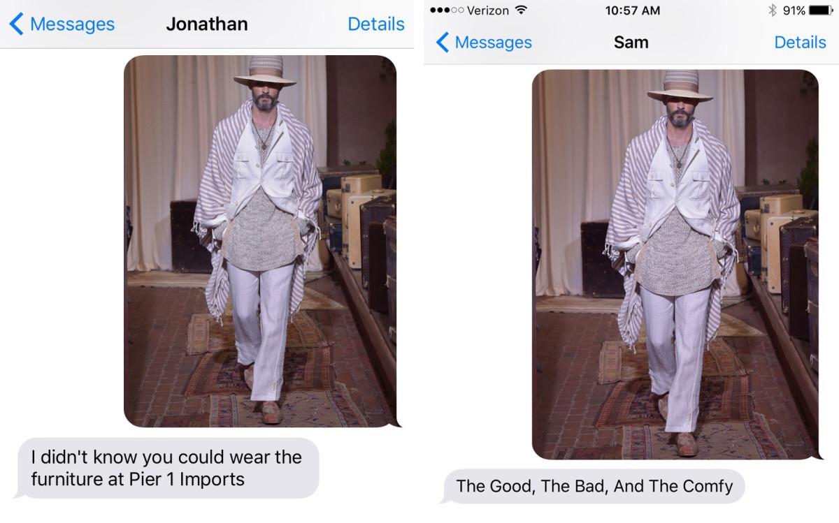 Left: Stephanie's friend, Jonathan. Right: Tyler's boyfriend, Sam.