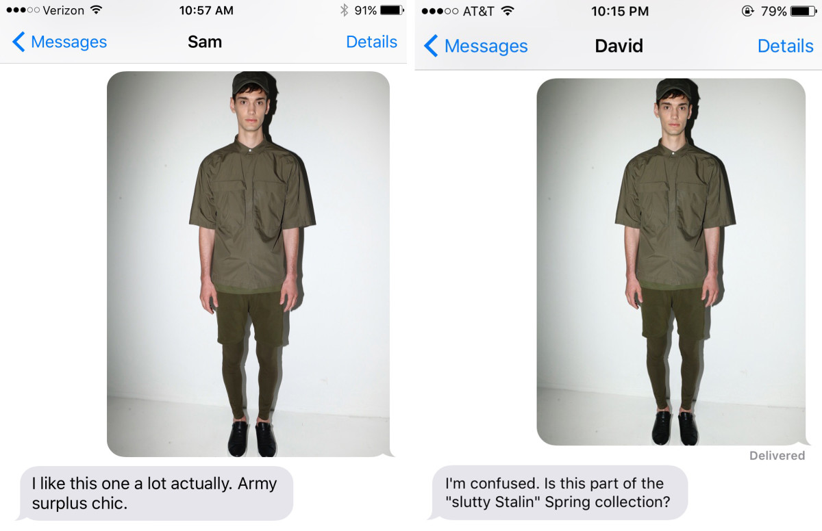 Left: Tyler's boyfriend, Sam. Right: Chantal's friend, David.