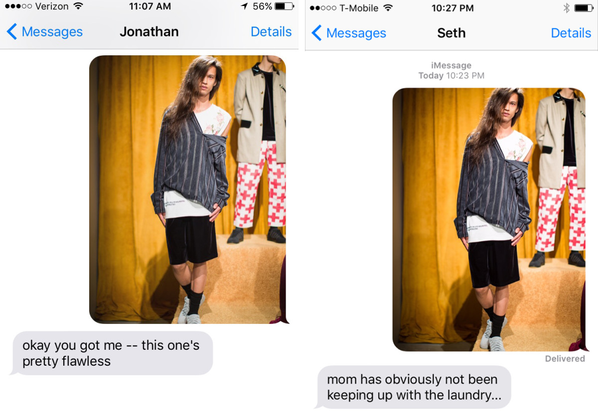 Left: Stephanie's friend, Jonathan. Right: Maria's brother-in-law, Seth.