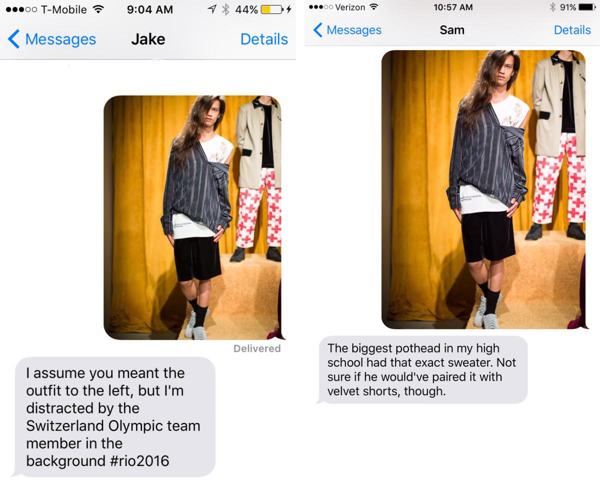 Left: Karina's boyfriend, Jake. Right: Tyler's boyfriend, Sam.