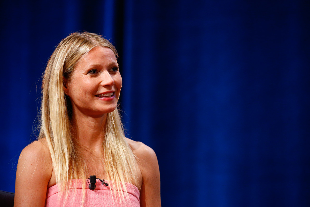 Gwyneth Paltrow during a talk at the Cannes Lions Festival in June 2016 in Cannes, France. Photo: Richard Bord/Getty Images