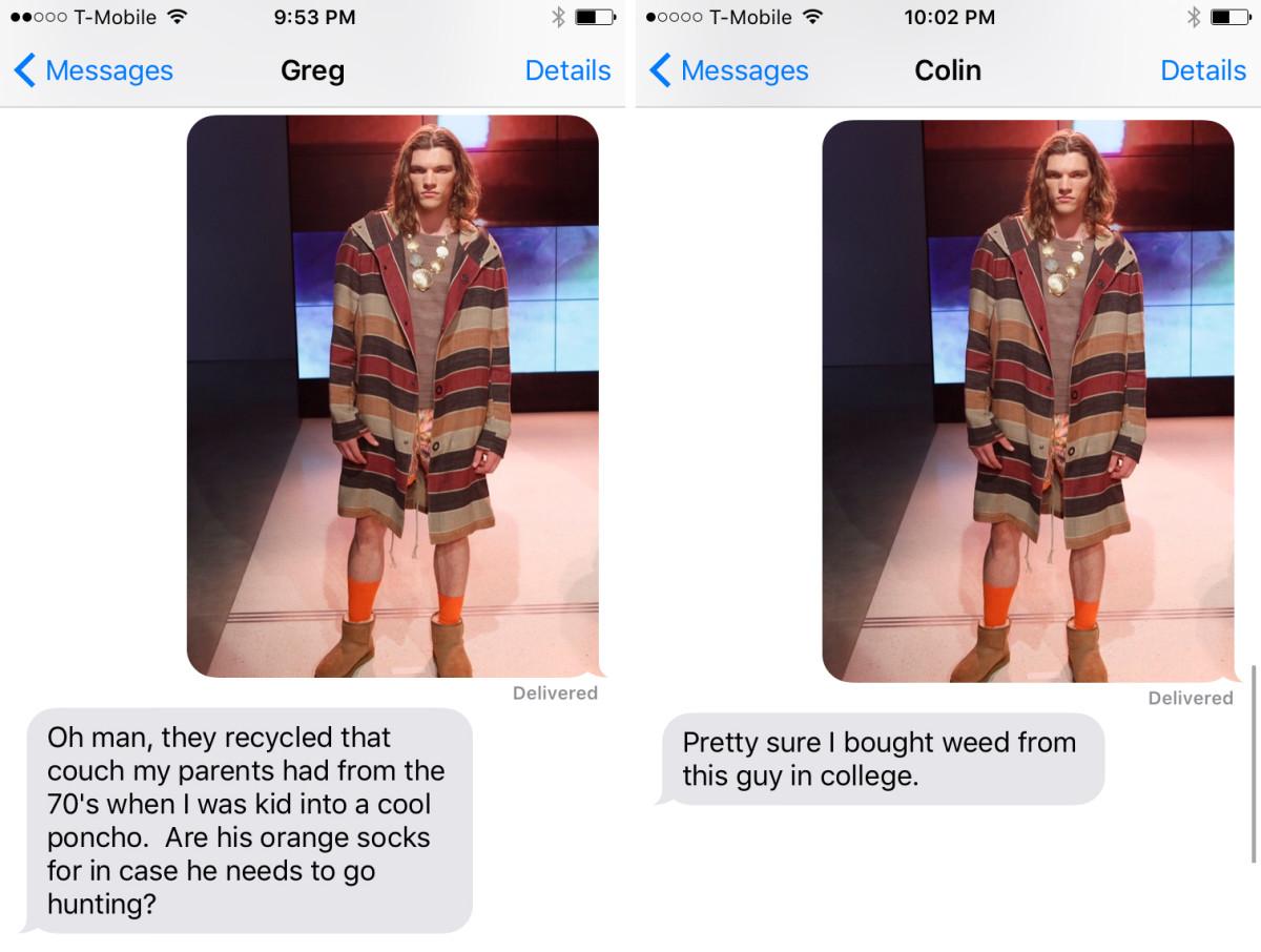 Left: Maria's friend, Greg. Right: Maria's friend, Colin.