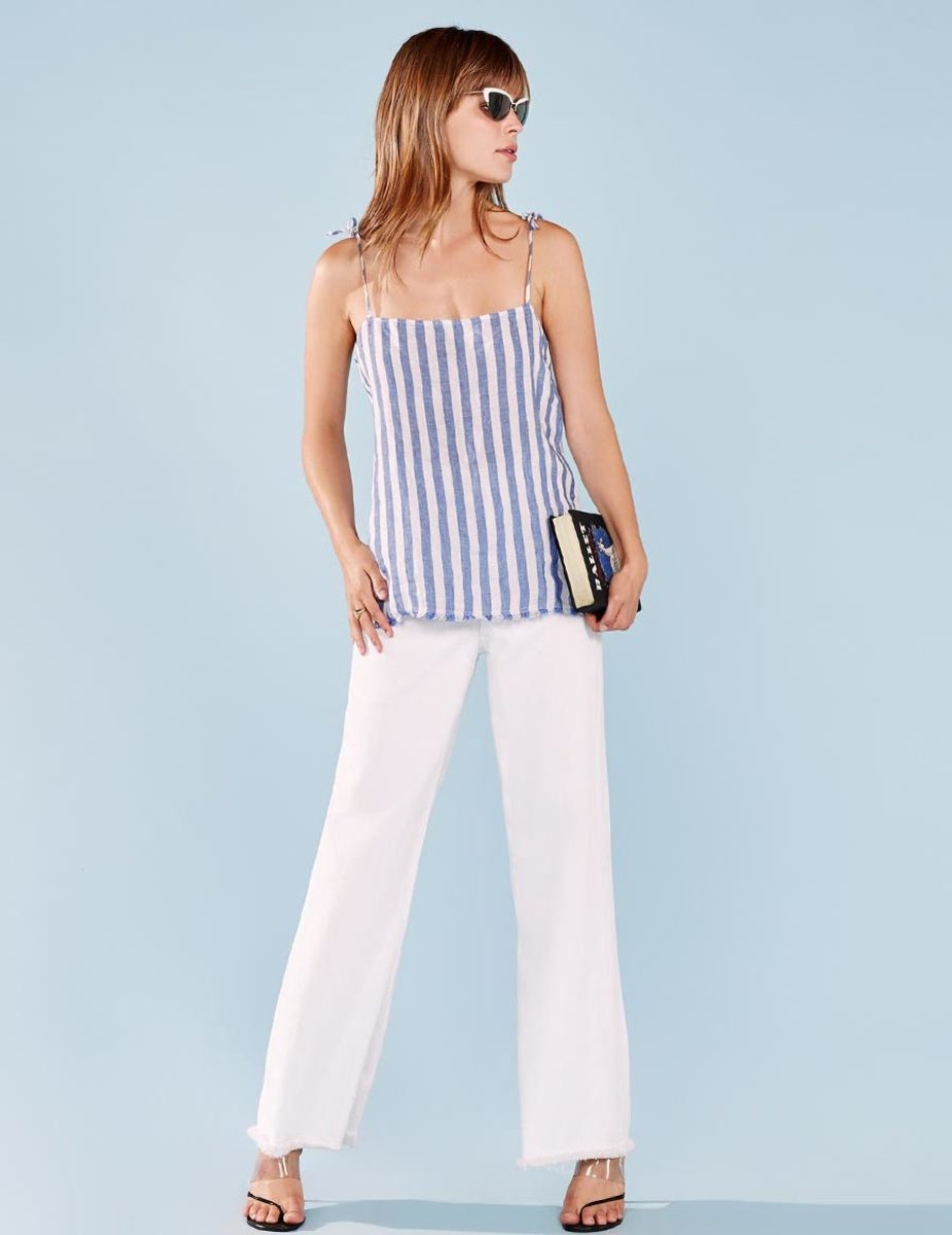 Alma top, $58, available at Reformation.