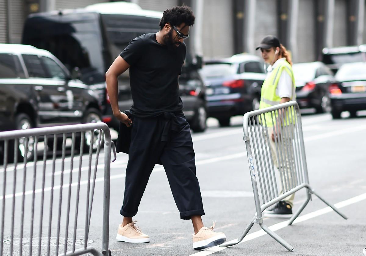Maxwell Osborne at New York Fashion Week: Men's in New York City. Photo: Daniel Zuchnik/Getty Images