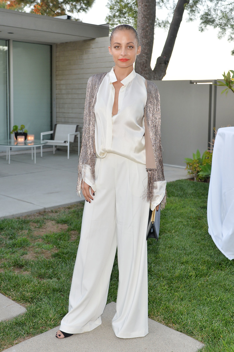 Nicole Richie at the Rachel Zoe for Net-a-Porter dinner in Los Angeles. Photo: Stefanie Keenan/Getty Images
