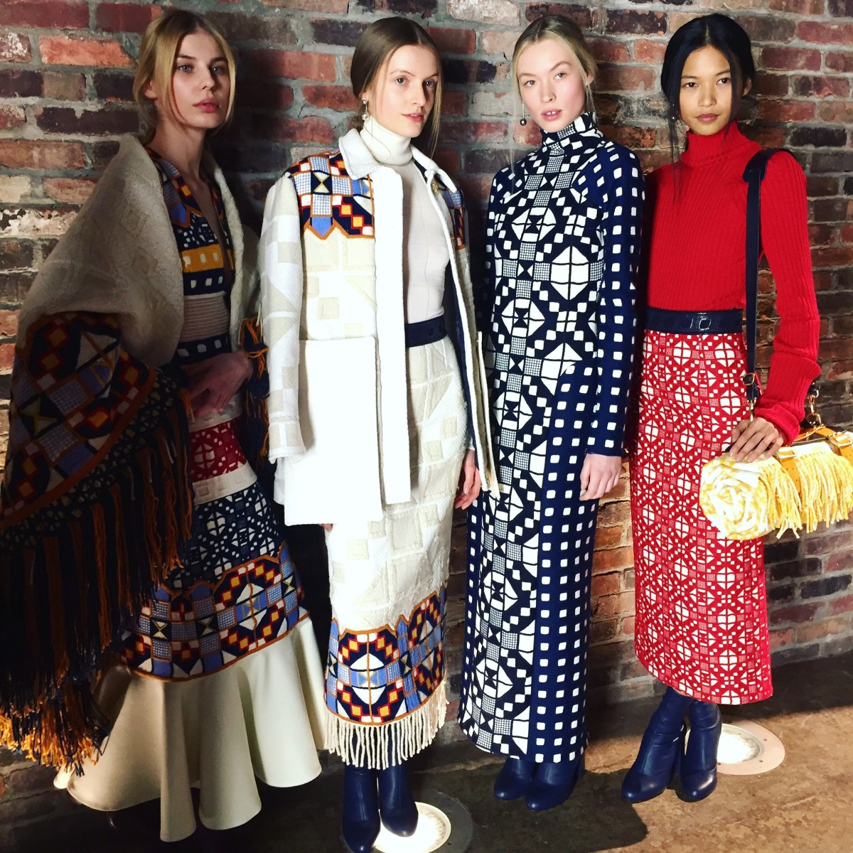 British brand Teatum Jones won the International womenswear prize in February. Photo: Fashionista