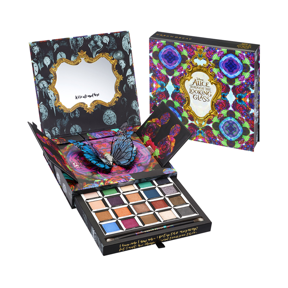 The Urban Decay x Alice Through The Looking Glass Eyeshadow Palette, $60, available at Sephora.