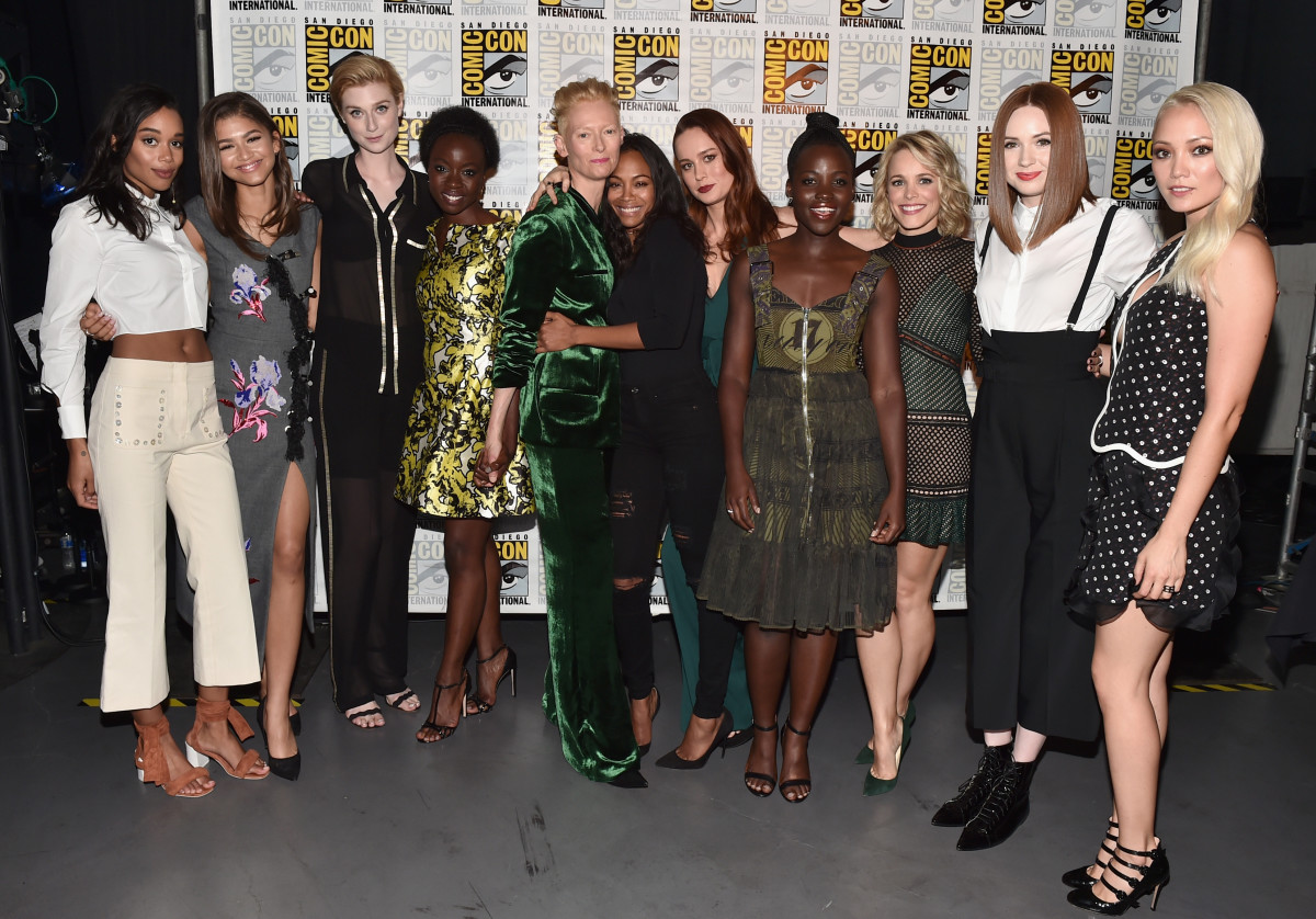 The stylish, badass ladies of Marvel. Photo: Getty Images