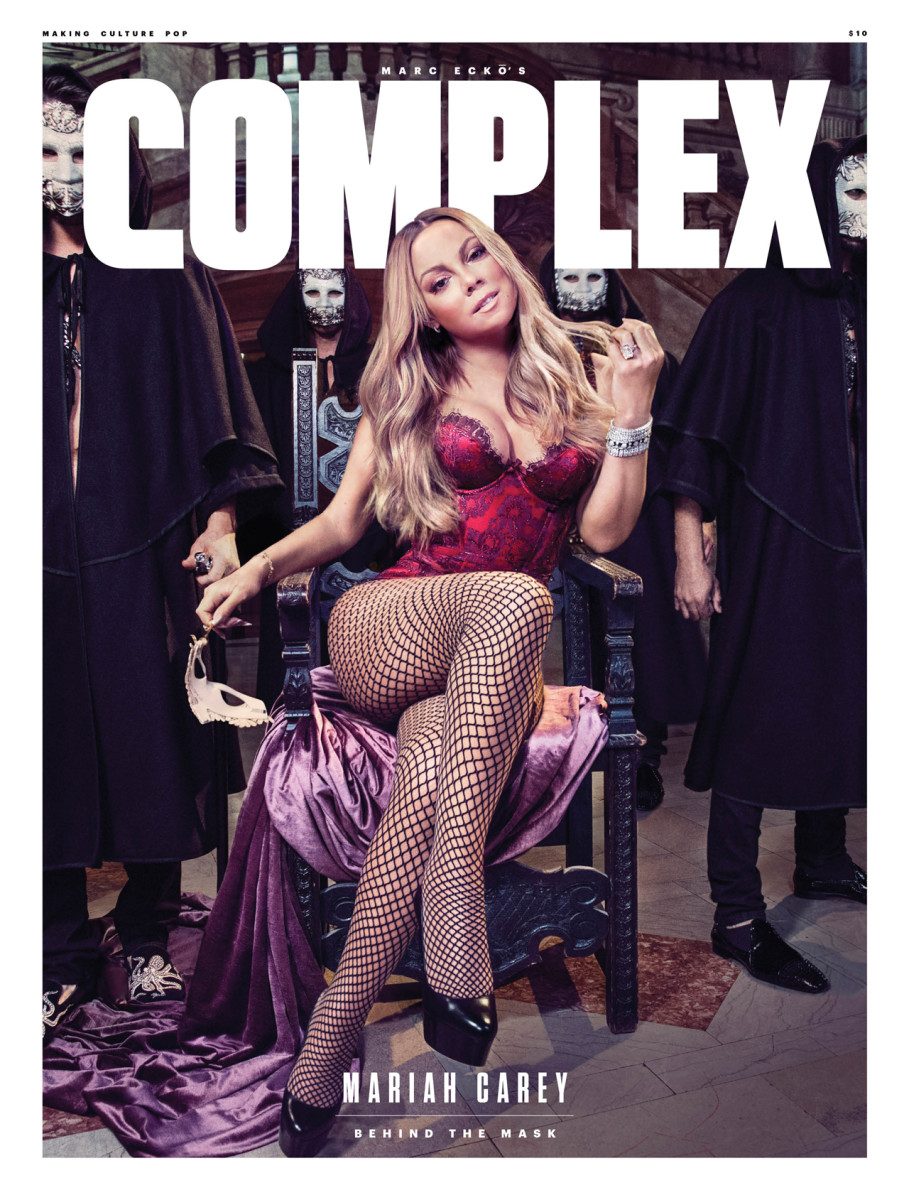 Mariah Carey on the cover of Complex. Photo: Micaela Rossato