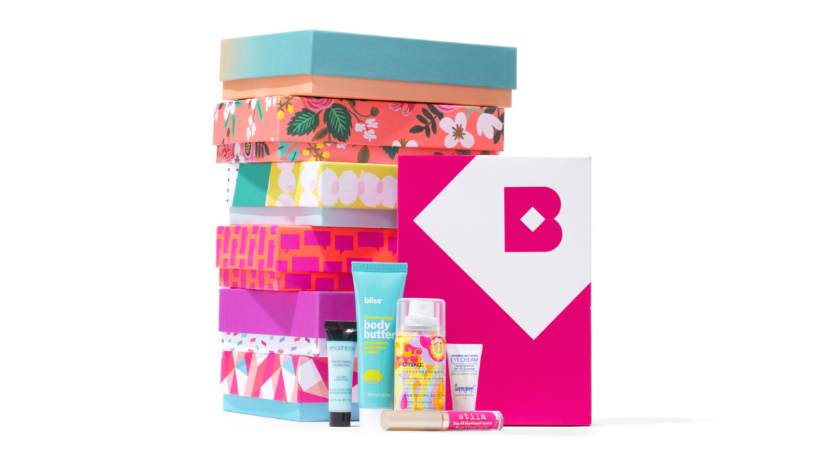 Birchbox's patterned boxes were designed to be repurposed. (So many possibilities!) Photo: Courtesy of Birchbox