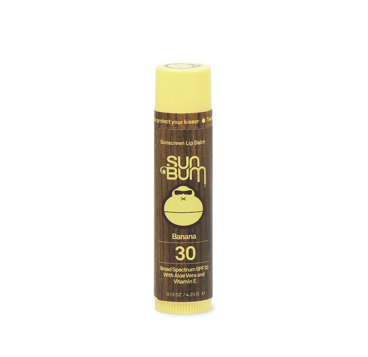 Sun Bum lip balm SPF 30, $3.99, available at Ulta Beauty