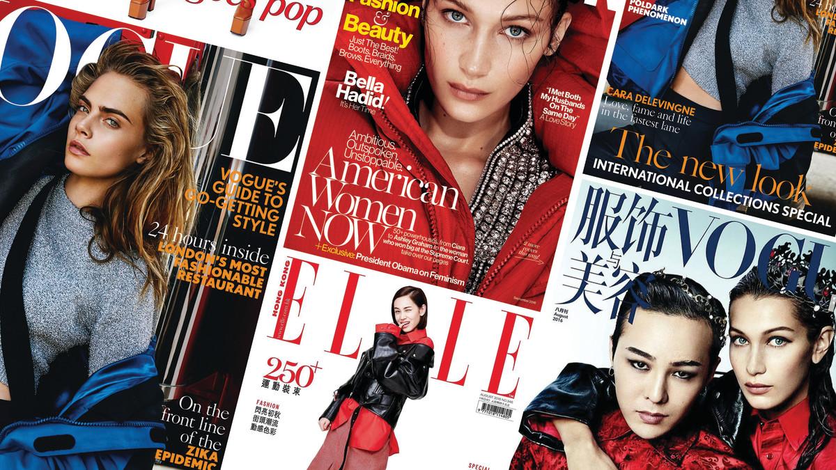 Magazines! Photos: Courtesy
