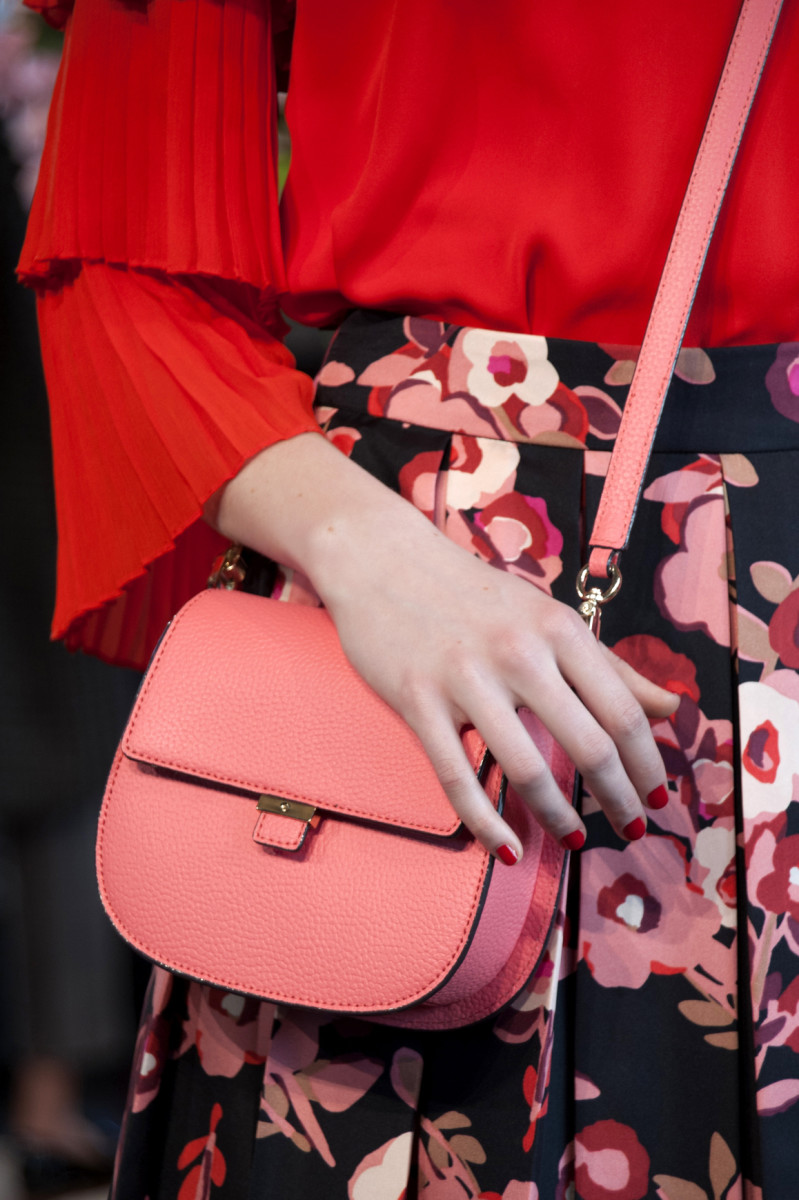 The Byrdie bag from the Cameron Street line at Kate Spade's fall 2016 presentation. Photo: Imaxtree