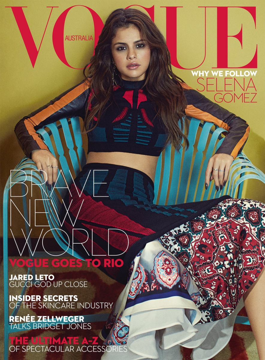 bb19866949 Selena Gomez Lands Another International  Vogue  Cover - Fashionista