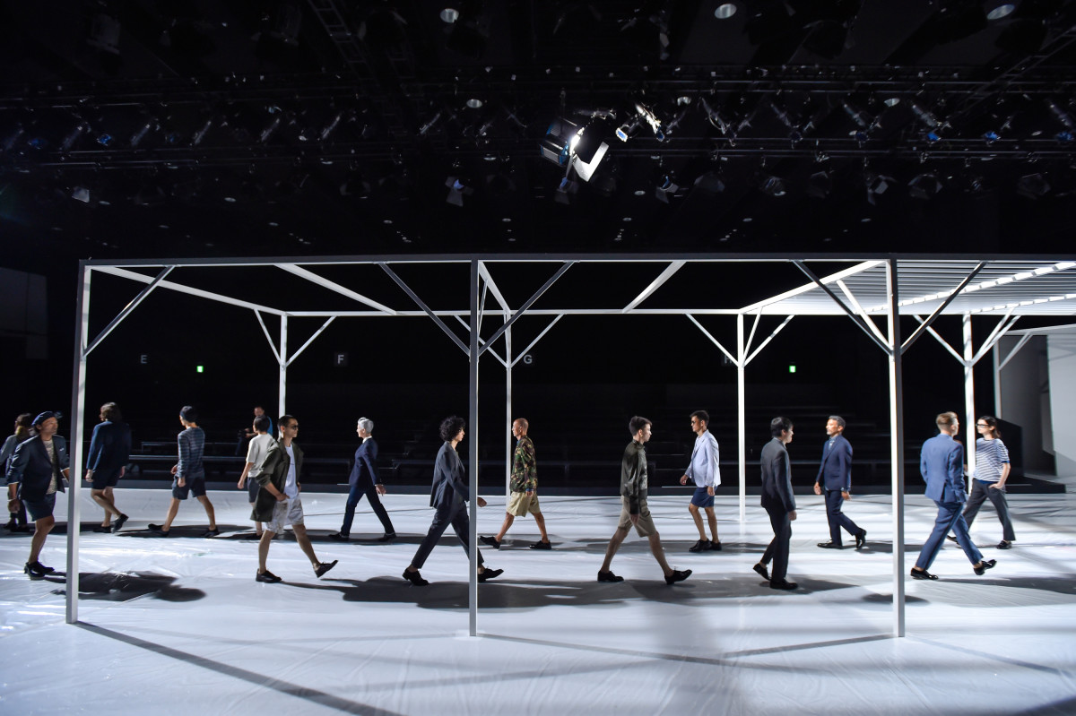 A Todd Snyder runway. Photo: Getty Images