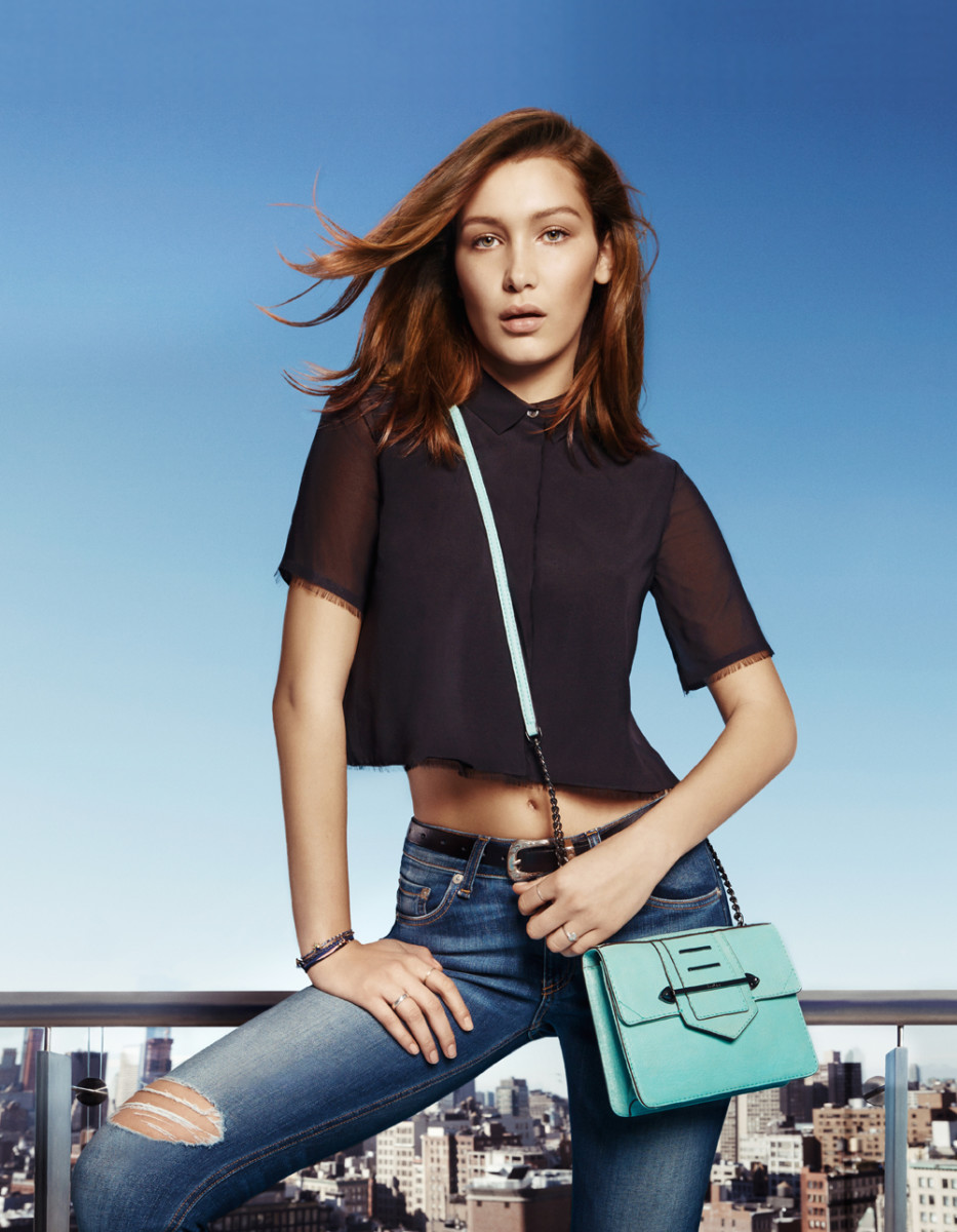 Bella Hadid in Botkier's spring 2015 campaign. Photo: Simon Cave