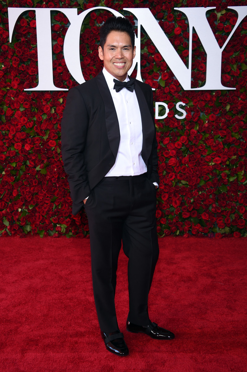 Tony winner Clint Ramos at this year's awards. Photo: Dimitrios Kambouris/Getty Images
