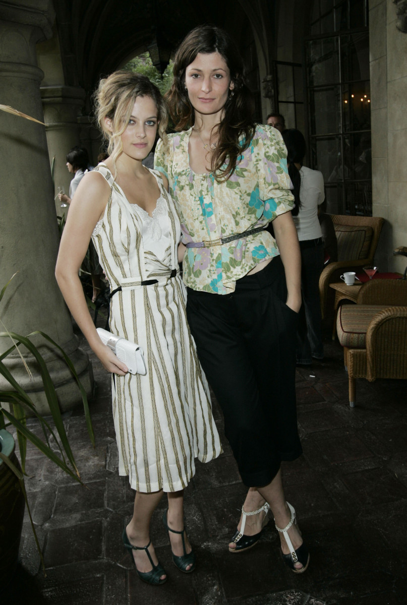 Riley Kough and Jane Mayle at a 2005 CFDA/Vogue fashion show. Photo: Donato Sardella/WireImage for Vogue