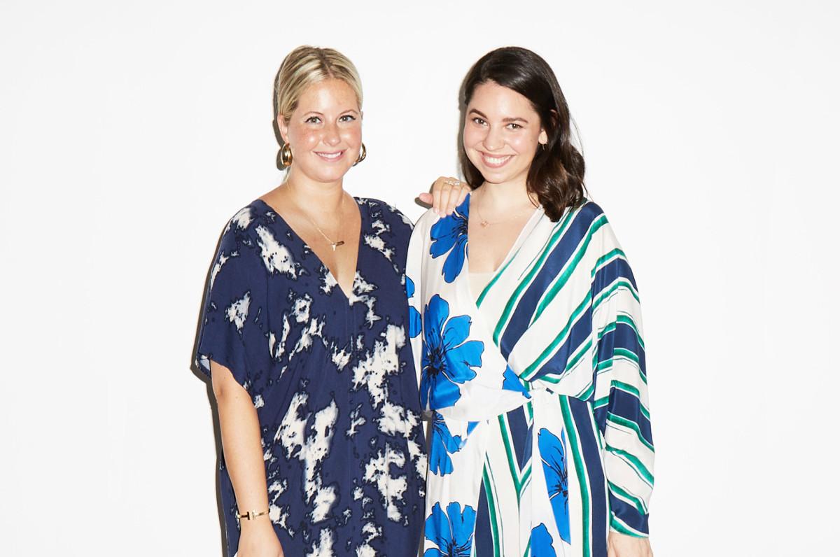 Erin Kleinberg and Stacie Brockman are the co-founders of Métier Creative. Photo: Adam Levett/Robbie Sokolowsky (TriBeCa Journal)