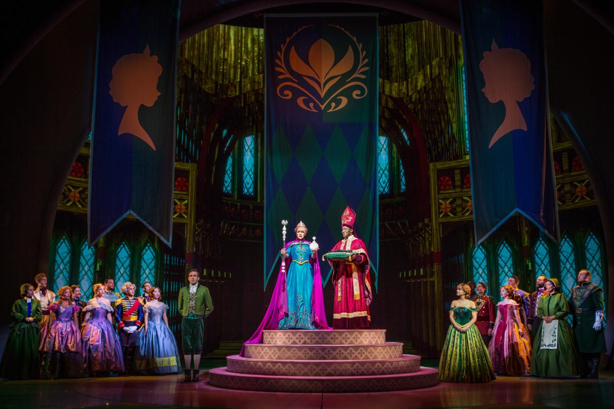 Elsa's coronation. Photo: Disney