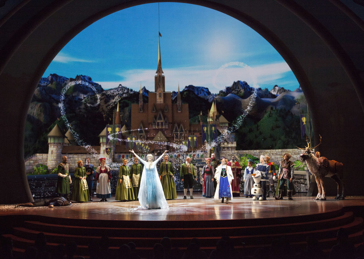An unfrozen kingdom in 'Frozen — Live at the Hyperion.' Photo: Disney