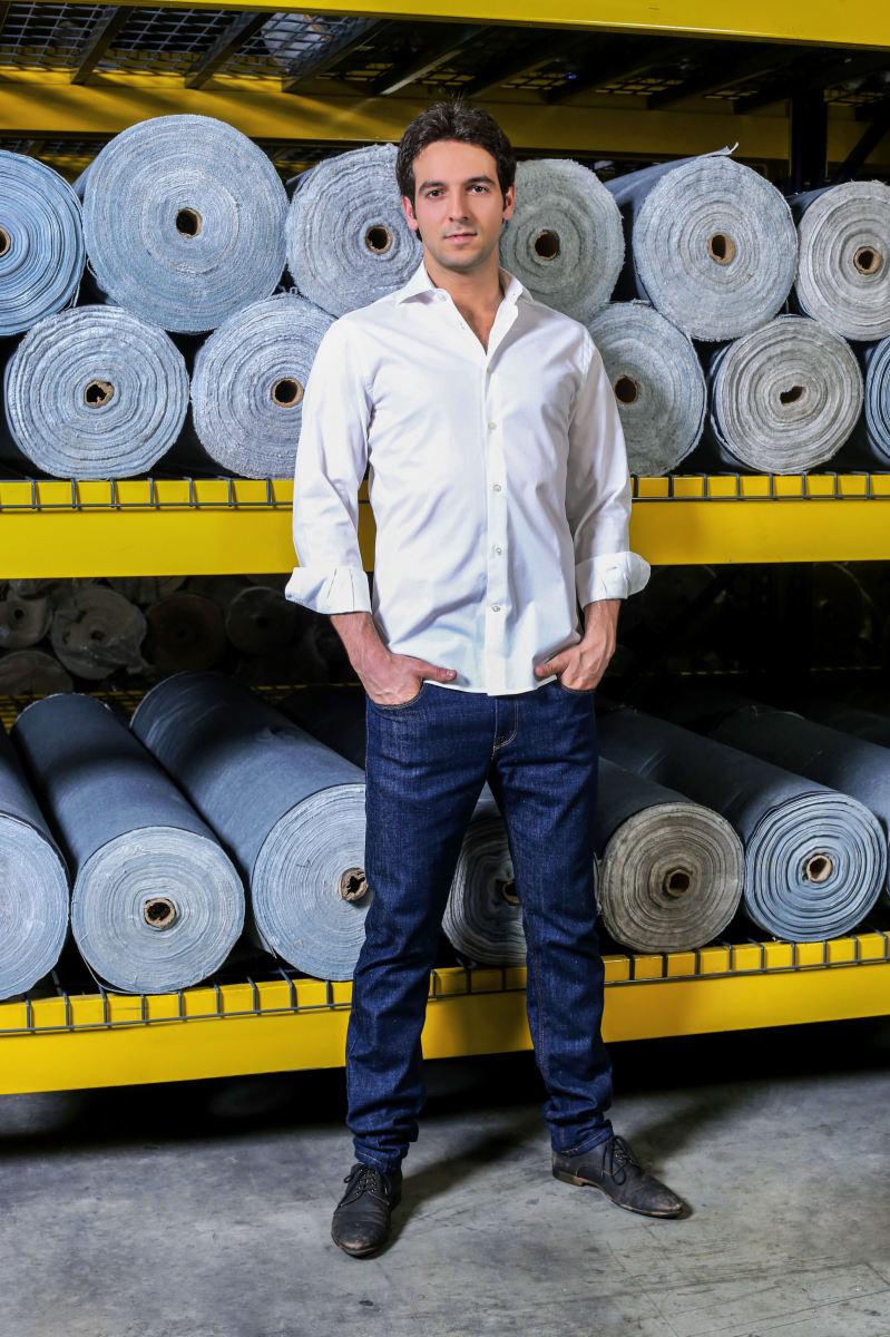 Mott & Bow founder Alejandro Chahin. Photo: Mott & Bow