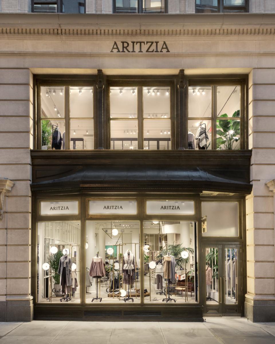 The Aritzia Flatiron store in New York City. Photo: Aritzia