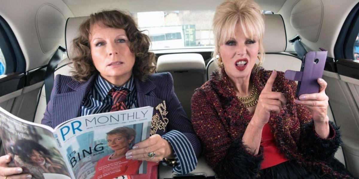 "Screenshot: ""Absolutely Fabulous"""