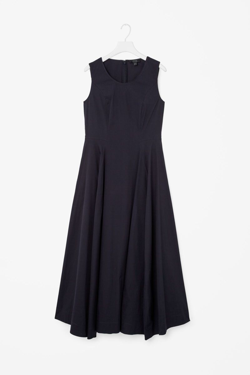 Cos flared cotton dress, $125, available at Cos