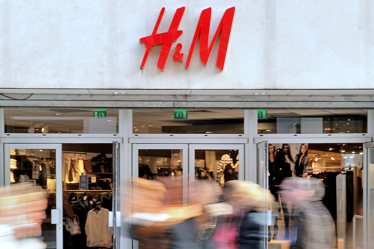 An H&M store in Lille, France. Photo: Philippe Huguen/AFP/Getty Images