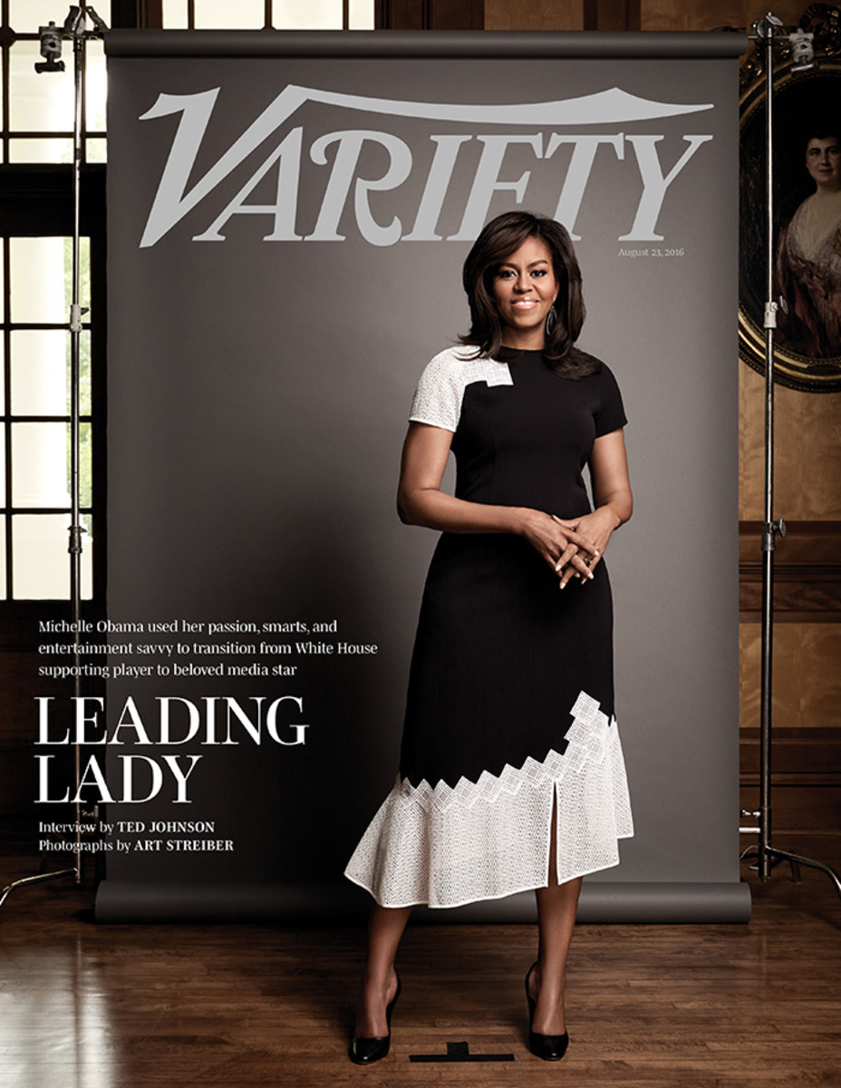 Michelle Obama on the August 23, 2016 cover of Variety. Photo: Art Streiber