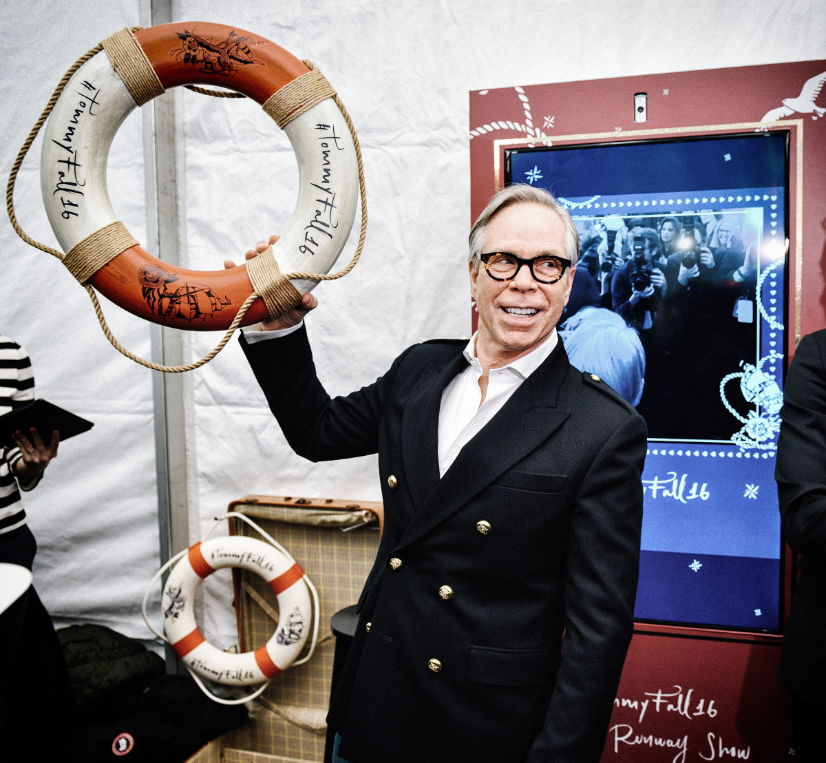 Tommy hilfiger show to include 40 foot ferris wheel public carnival and gigi hadid fashionista - Tommy hilfiger show ...