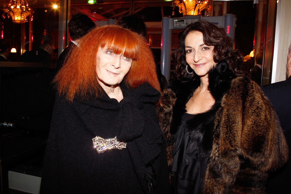 Sonia and Nathalie Rykiel in 2009. Photo  Michel Dufour WireImage ae2e8a999