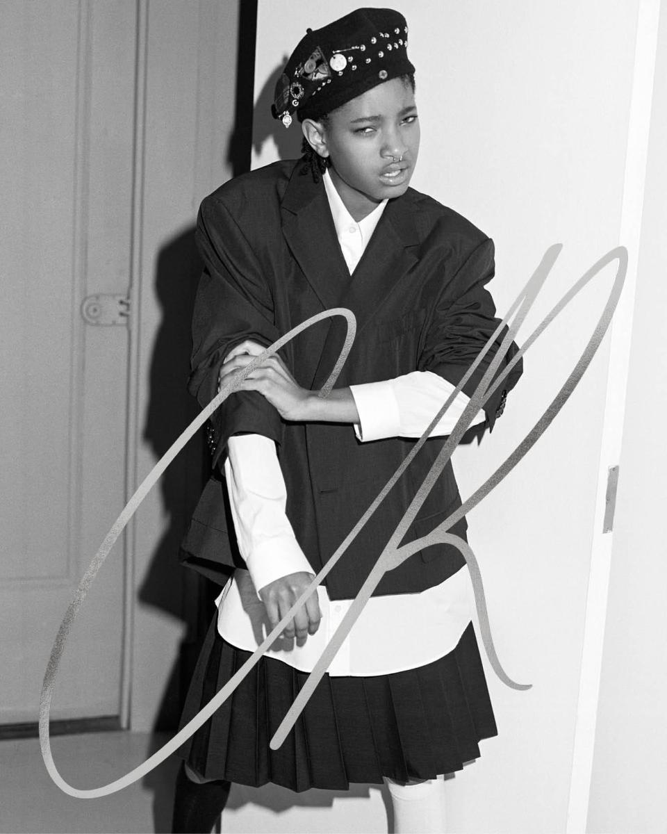 "Willow Smith for ""CR Fashion Book,"" Issue 9. Photo: Bruce Weber"