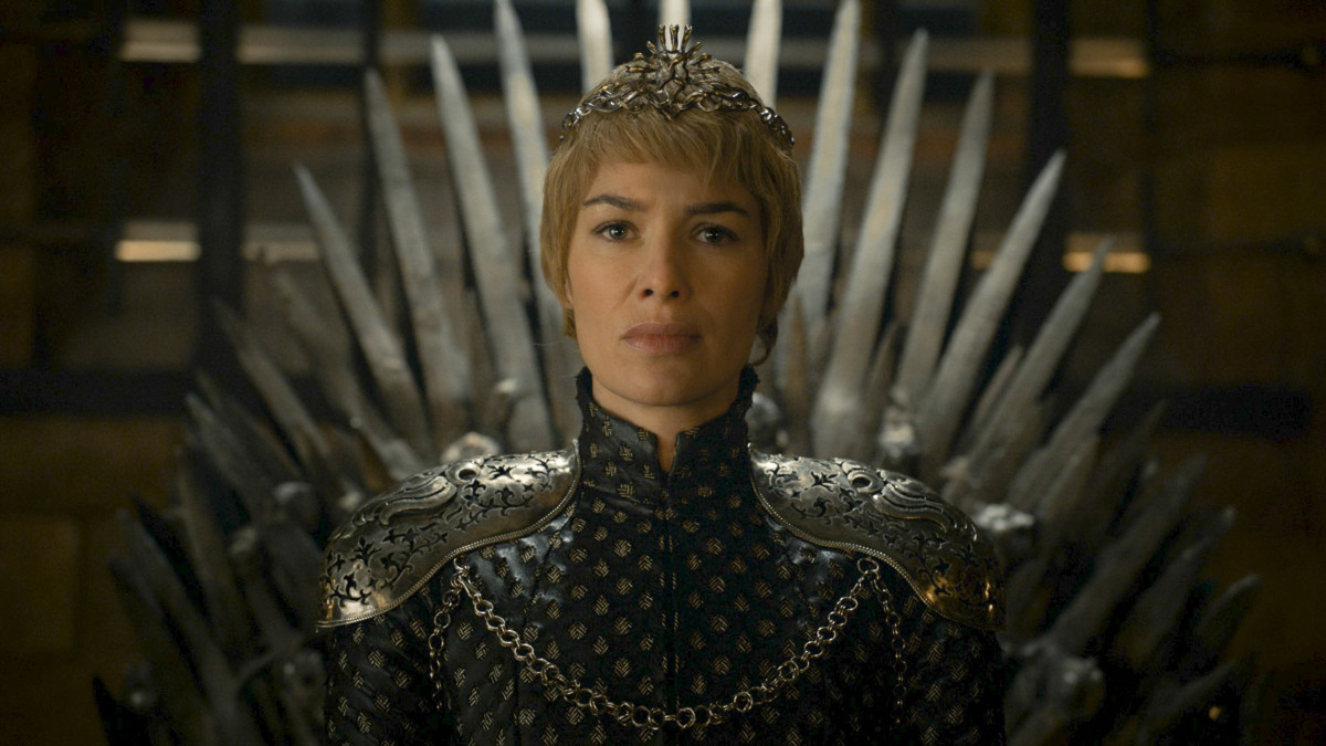 Cersei (Lena Headey) in her crown. Photo: HBO