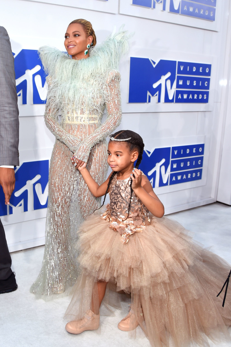Beyonce and Blue Ivy. Photo: Jamie McCarthy/Getty Images