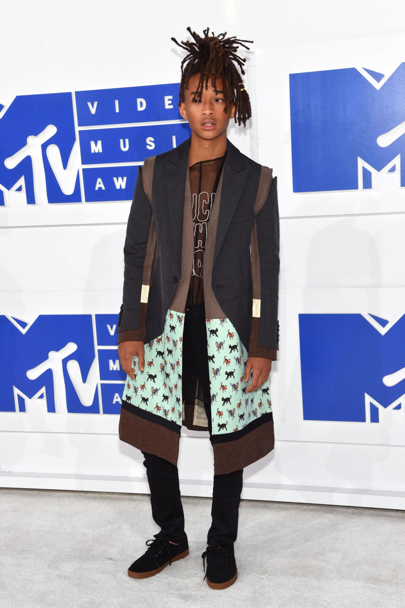 Jaden Smith at the 2016 MTV Video Music Awards. Photo: Jamie McCarthy/Getty Images