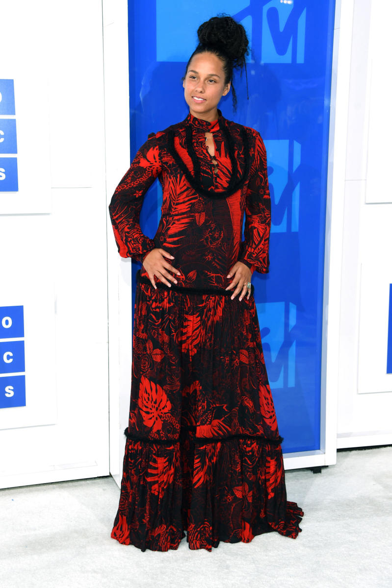 Alicia Keys at the 2016 MTV Video Music Awards. Photo: Jamie McCarthy/Getty Images
