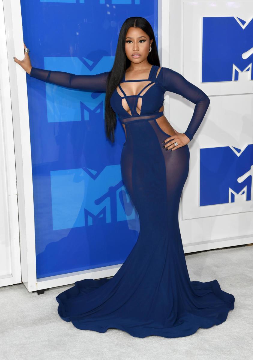 Nicki Minaj at the 2016 MTV Video Music Awards. Photo: Jamie McCarthy/Getty Images