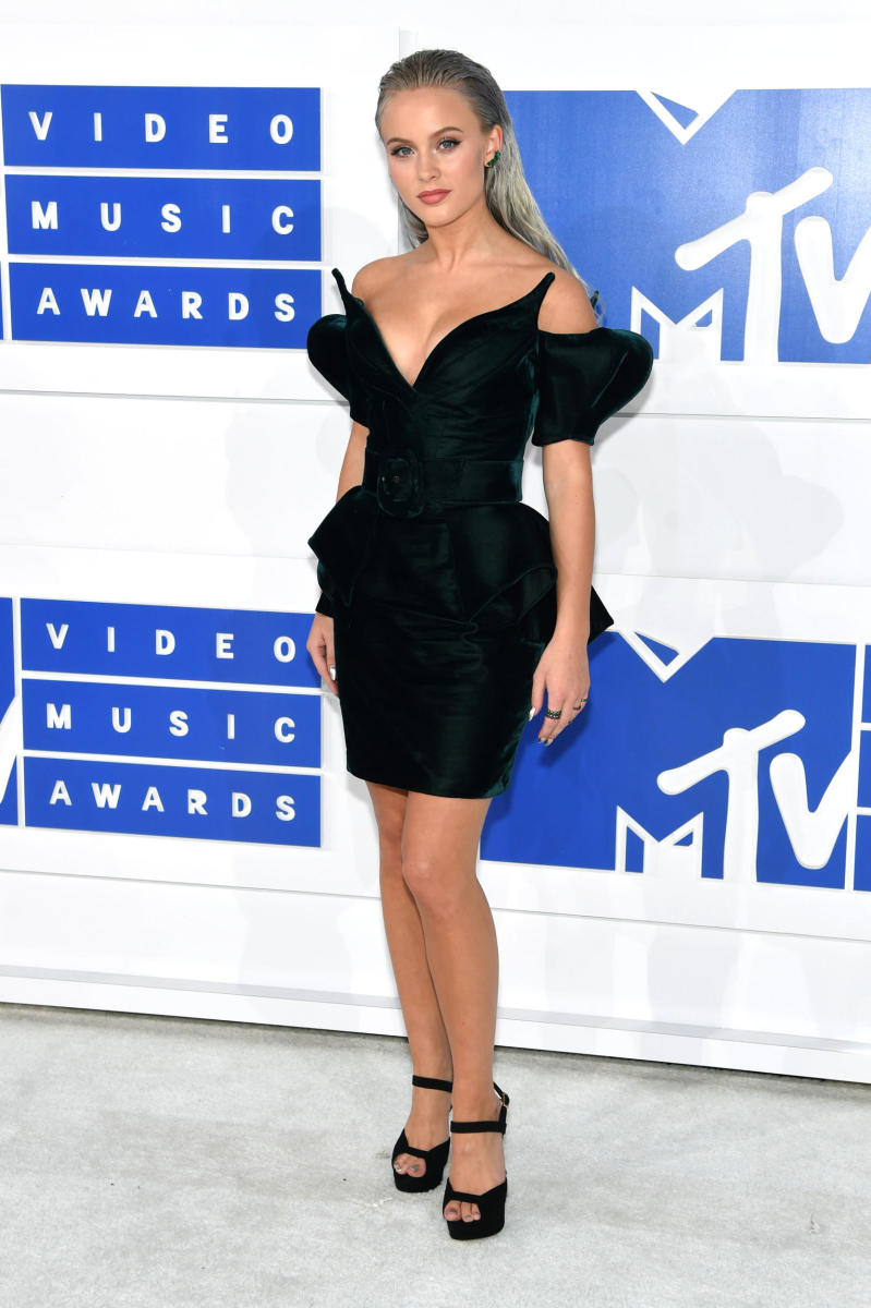 Zoe Larsson at the 2016 MTV Video Music Awards. Photo: Jamie McCarthy/Getty Images